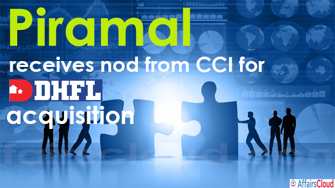 Piramal receives nod from CCI for DHFL acquisition