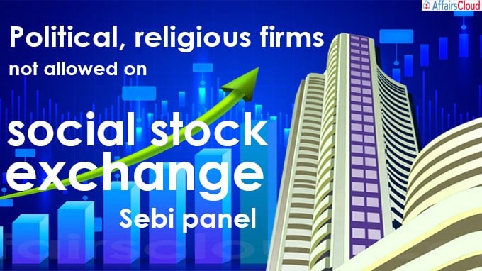 Political, religious firms not allowed on social stock exchange