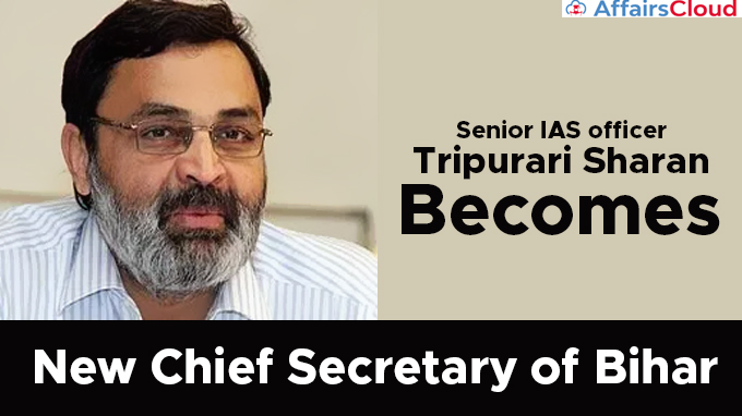 Senior-IAS-officer-Tripurari-Sharan-becomes-new-Chief-Secretary-of-Bihar