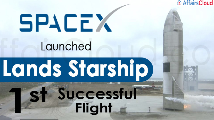 SpaceX launches, lands Starship in 1st successful flight