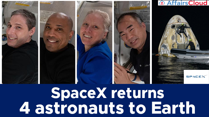 SpaceX-returns-4-astronauts-to-Earth (1)