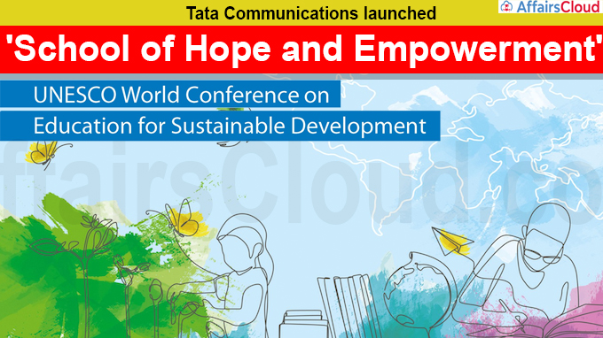 Tata Communications launches 'School of Hope and Empowerment'