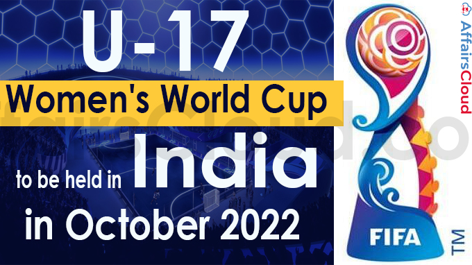U-17 Women's World Cup to be held in India