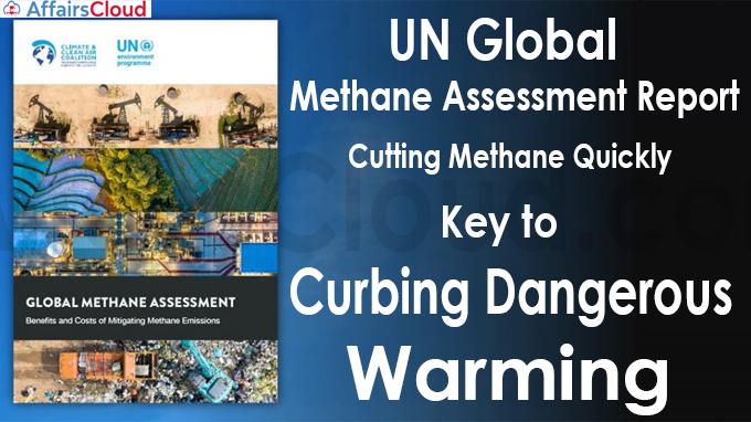 UN Global Methane Assessment Report
