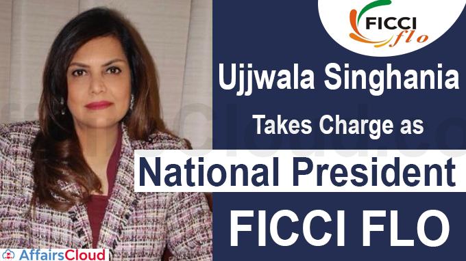 Ujjwala Singhania takes charge as National President