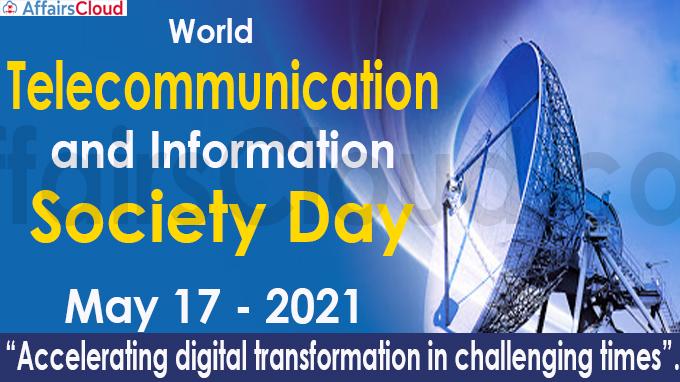 World Telecommunication and Information Society Day new