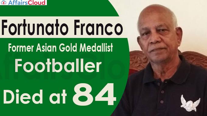 former Asiad gold medallist footballer, dies at 84