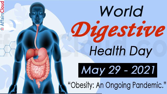 world digestive health day 2021