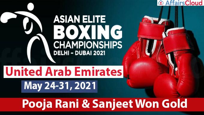 2021 ASBC Asian Boxing Championships held in Dubai