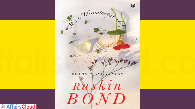 A book titled It's a Wonderful Life by Ruskin Bond