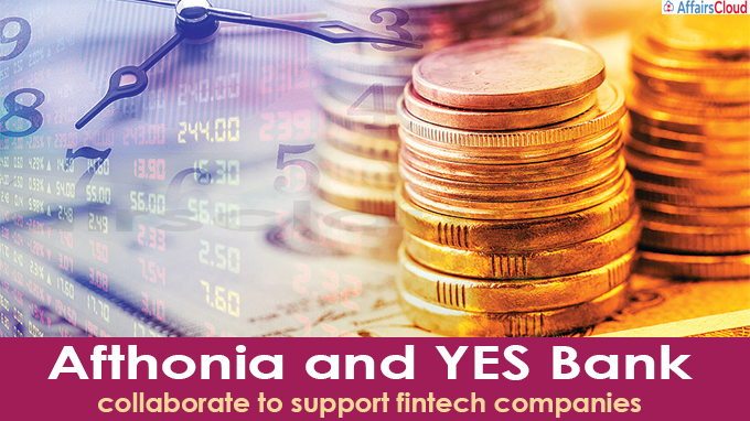 Afthonia and YES Bank collaborate to support fintech companies