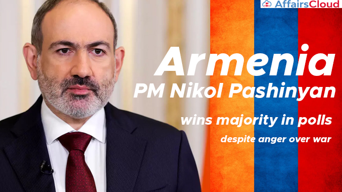 Armenia-PM-Nikol-Pashinyan-wins-majority-in-polls-despite-anger-over-war