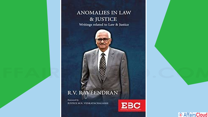 CJI releases book 'Anomalies in Law and Justice' by former SC judge R V Raveendran