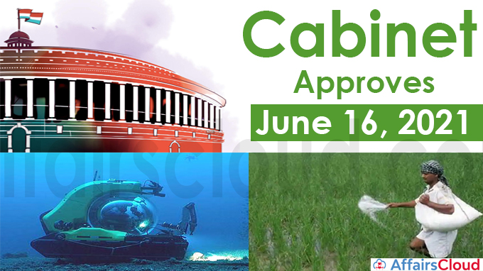 Cabinet Approval on June 16, 2021