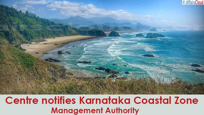 Centre notifies Karnataka Coastal Zone Management Authority
