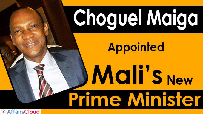 Choguel Maiga named Mali's new Prime Minister