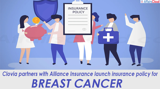 Clovia partners with Alliance Insurance launch insurance policy for breast cancer