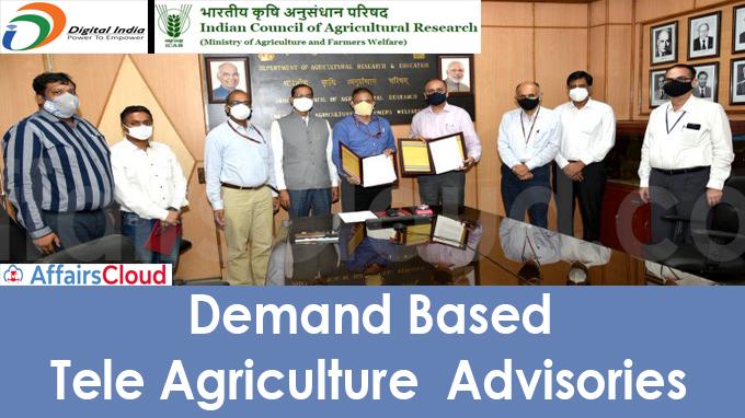 Demand Based Tele Agriculture Advisories