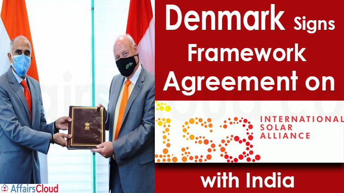 Denmark signs framework agreement on International Solar Alliance