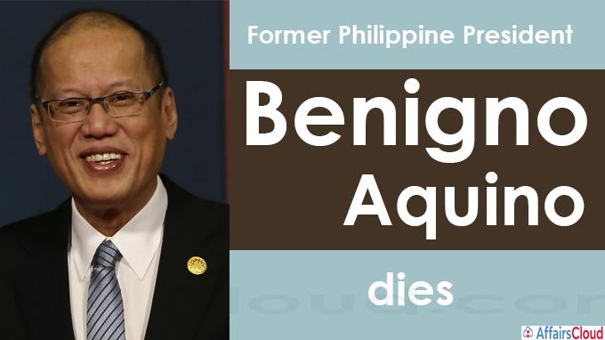 Former Philippine President Benigno Aquino