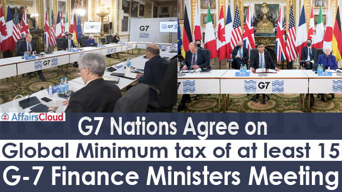 G-7 finance ministers meeting