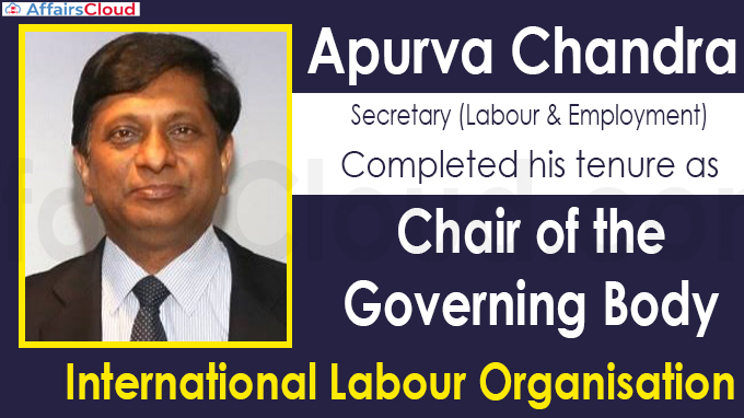 India completes term as Chair of ILO''s Governing Body