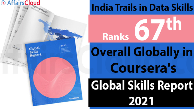India trails in data skills, ranks 67th overall globally