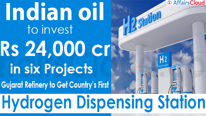 Indian oil to invest Rs 24,000 crore in six projects