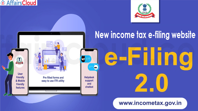 New income tax e-filing website