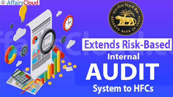RBI extends risk-based internal audit system to HFCs