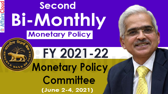 Second Bi-Monthly Monetary Policy for FY 2021-22