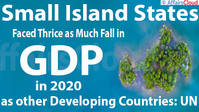 Small island states faced thrice as much fall in GDP