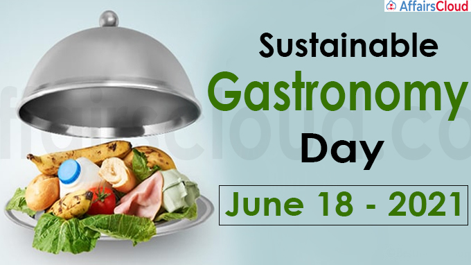 Sustainable Gastronomy Day 2021