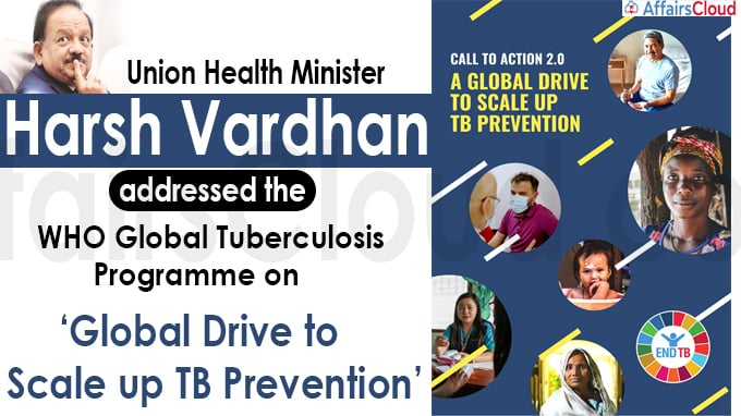WHO Global Tuberculosis Programme on 'Global Drive to Scale up TB Prevention'