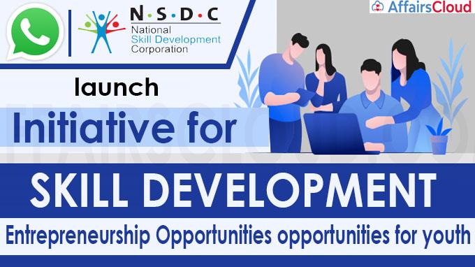 WhatsApp, NSDC launch initiative for skill development