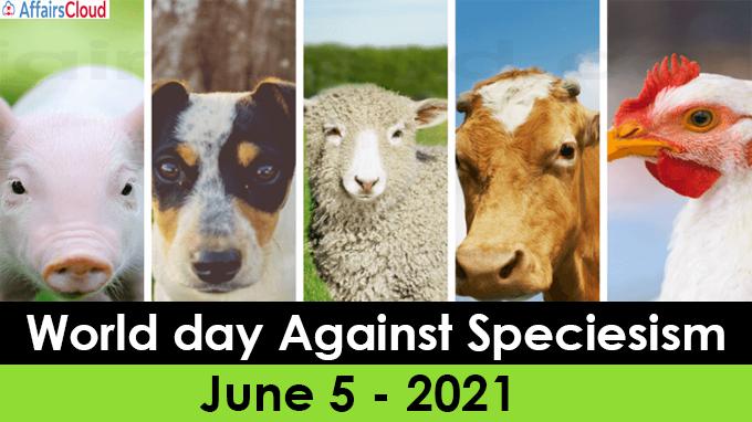 World day Against Speciesism