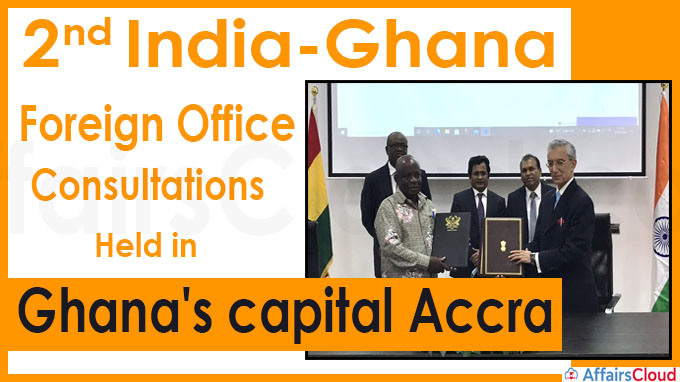2nd India-Ghana Foreign Office Consultations