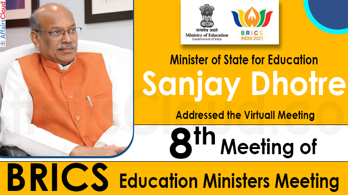 8th meeting of BRICS education Ministers meeting