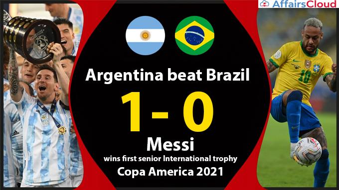 Argentina-beat-Brazil-1-0,-Messi-wins-first-senior-International-trophy