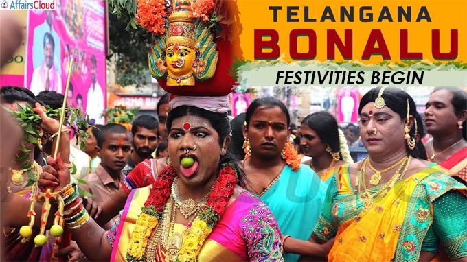 Bonalu festivities begin in Telangana