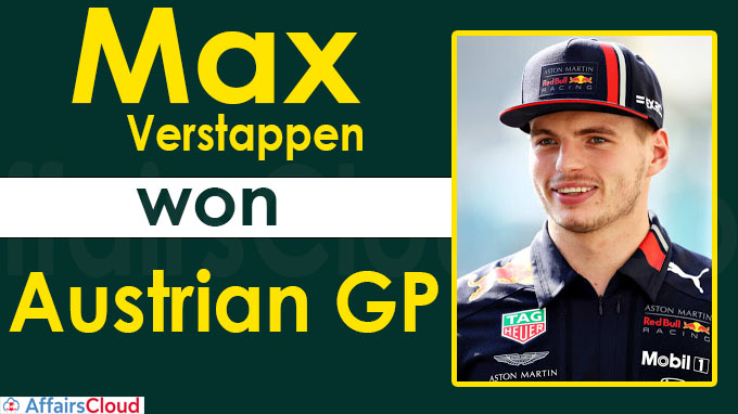 Dominant Verstappen wins Austrian GP new