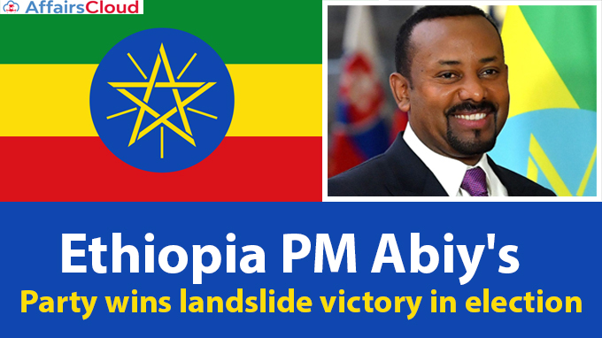 Ethiopia-PM-Abiy's-party-wins-landslide-victory-in-election