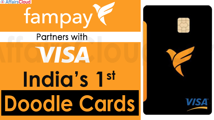 FamPay partners Visa to woo teenagers with personalised doodle cards new