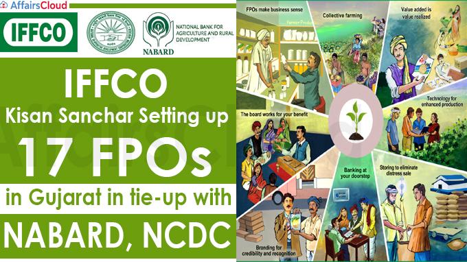 IFFCO Kisan Sanchar setting up 17 FPOs in Gujarat