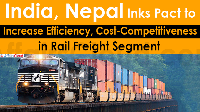 India, Nepal inks pact to increase efficiency, cost-competitiveness