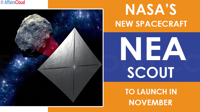 NEA Scout to launch in November