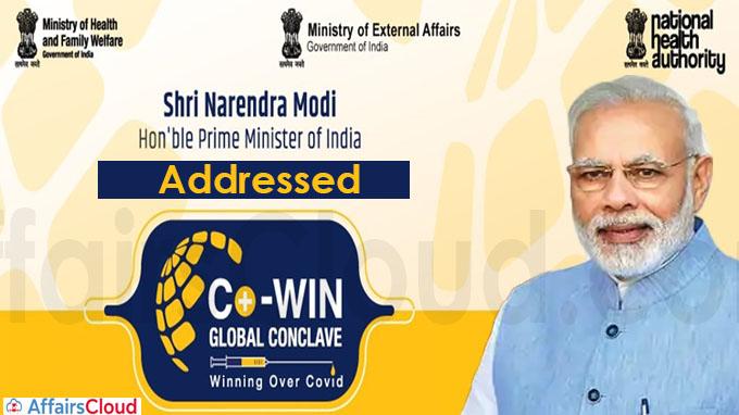 PM Narendra Modi Address CoWIN Global Conclave