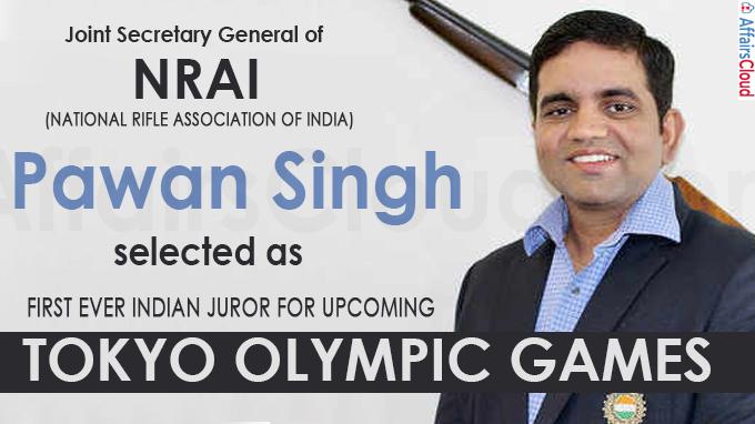 Pawan Singh selected as first ever Indian juror