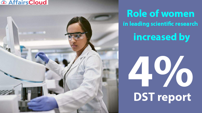 Role-of-women-in-leading-scientific-research-increased-by-4-percent