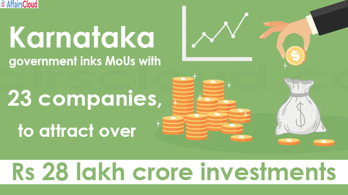Rs 28 lakh crore investments